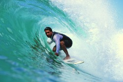 Surfer gjennom livet